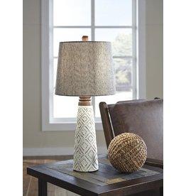 Signature Design Curis Paper Table Lamp (2/CN) L235564