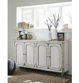 Signature Design Mirimyn Antique White Accent Cabinet