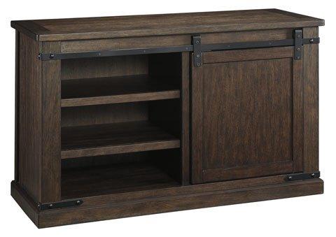 Signature Design W562-28 Budmore Medium TV Stand, Rustic Brown