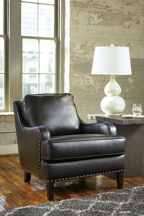 Laylanne Accent Chair - Black