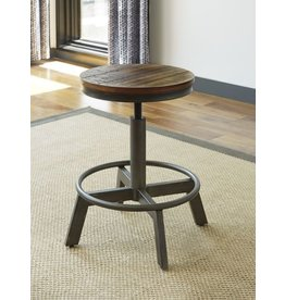 Torjin Brown/Grey Adjustable Height Barstool D440-024