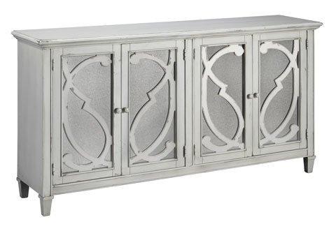 Signature Design T505-562 Mirimyn Accent Cabinet W' Mirror Doors