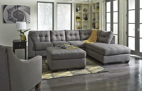 Signature Design Maier Charcoal LAF Sectional
