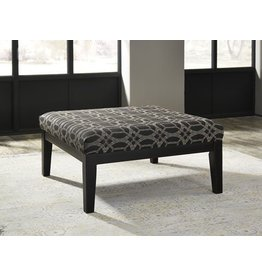 Signature Design Cresson Oversized Accent Ottoman - Pewter 5490708