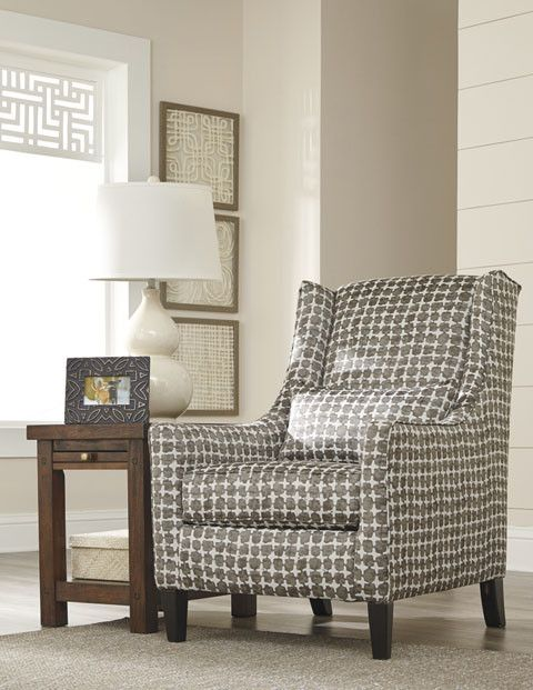 Signature Design Lainier Accent Chair - Walnut