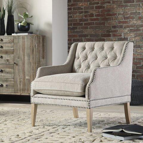 Signature Design Trivia, Accent Chair, Casual- Bone color A3000039