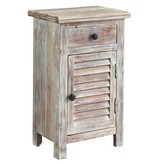 Signature Design Charlowe Door Night Stand - White Wash B013-292