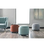Signature Design Menga Storage Ottoman- Ash Color