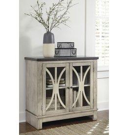 Signature Design Vennilux Door Accent Cabinet - Bisque T500-332