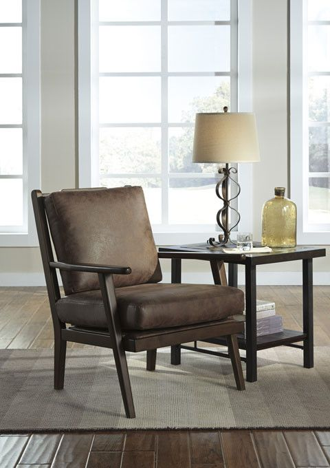 Signature Design Tanacra Accent Chair, Tweed
