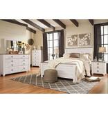 Signature Design Willowton Dresser - Two-tone