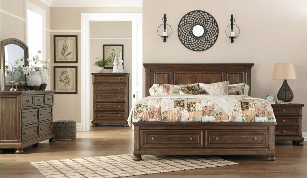 Signature Design Flynnter Dresser, Medium Brown, Casual