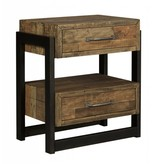 Signature Design Sommerford Two Drawer Night Stand - Brown B775-92