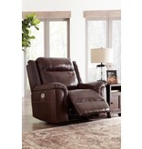 Signature Design Wyline- PWR Recliner/ADJ Headrest, Coffee 7170113