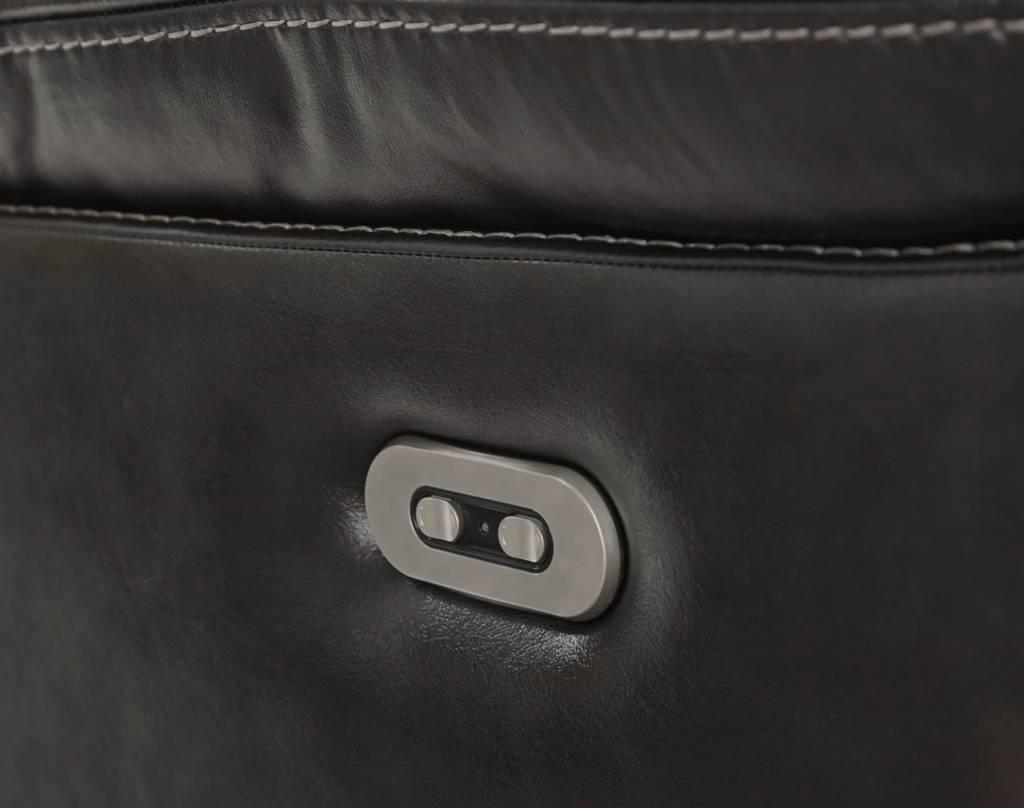 Signature Design Pillement, Power Rocker Recliner with Adjustable Headrest, Metal 7700413