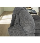 Signature Design Krismen, Power Rocker Recliner with Adjustable Headrest, Charcoal 7810213