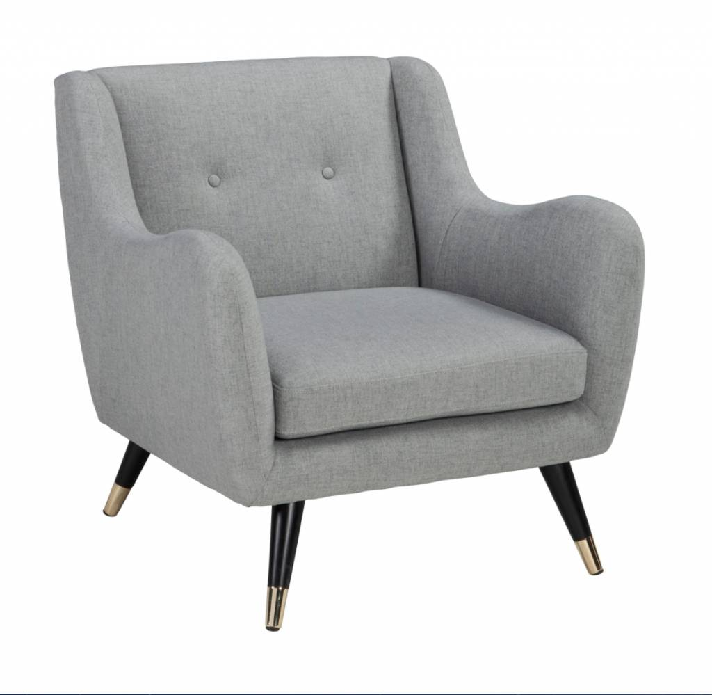 Signature Design Menga Accent Chair, Ash