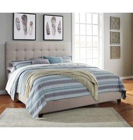 Signature Design CREAM B130-582 Dolante KING Upholstered Beds