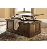 Signature Design Flynnter, Lift Top Cocktail Table, Medium Brown T919-9