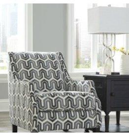 Signature Design Gilmer Accent Chair - Gunmetal 6560321