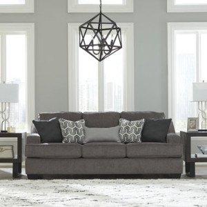 Signature Design Gilmer Queen Sofa Sleeper - Gunmetal