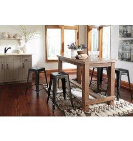 Signature Design Pinnadel Stool - Gray (4CN) Price per stool D542-024