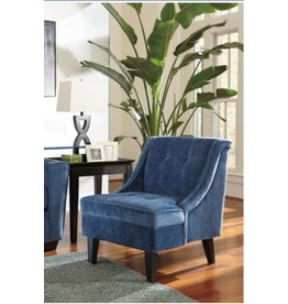 Signature Design Cerdic Accent Chair - Azure 3640160