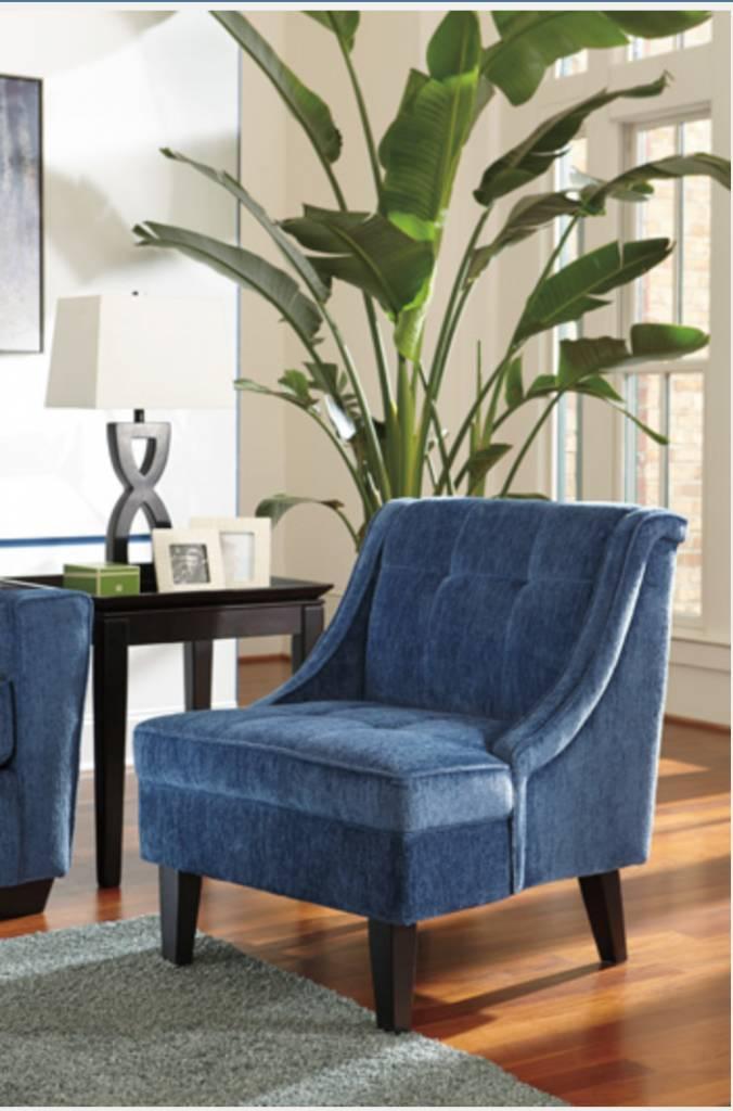 Signature Design Cerdic Accent Chair - Azure 3640160