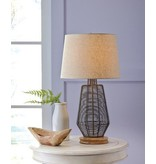 Signature Design Artie Metal Table Lamp (1/CN) - Natural