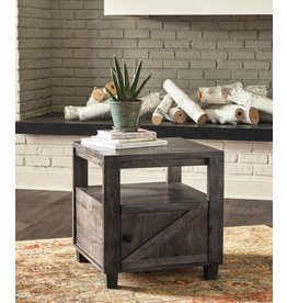 Signature Design Chaseburg- Square End Table, Light Brown T848-2