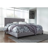 Signature Design KING- GRAY B130-782 Dolante  Upholstered Beds