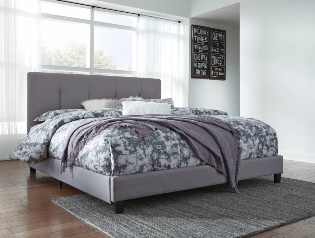 Signature Design GRAY B130-782 Dolante KING Upholstered Beds