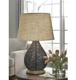 Signature Design Aimon, Metal Table Lamp, Bronze Finish L207064
