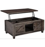 Signature Design Chaseburg- Lift Top Cocktail Table, Light Brown T848-9