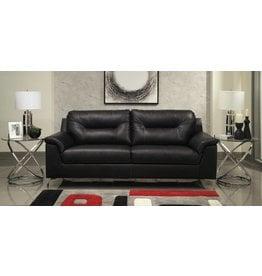 Benchcraft Tensas- Sofa Black, Faux Leather 3960438