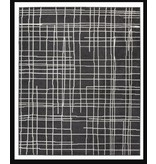 Signature Design Jai- Black and White Medium Rug R403132
