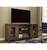 Signature Design Extra Large TV Stand- Flynnter Medium Brown