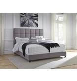 Benchcraft GRAY B130-382 Dolante KING Upholstered Bed