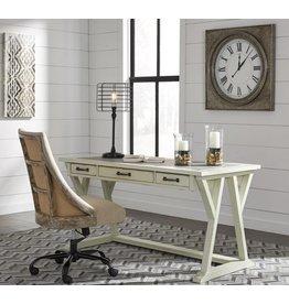 Signature Design Jonileene- Large Leg Desk- White/Gray H642-44