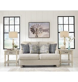 Signature Design Traemore Loveseat- Linen 2740335