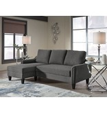 Benchcraft Jarreau Sofa Chaise Sleeper- Gray 1150271