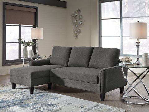 Jarreau Sofa Chaise Sleeper Gray 1150271 Hvl Electronics Furniture