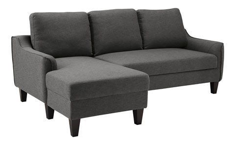 Benchcraft Jarreau Sofa Chaise Sleeper- Gray 1150271