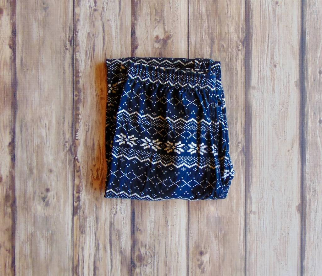Fair Isle Printed Leggings