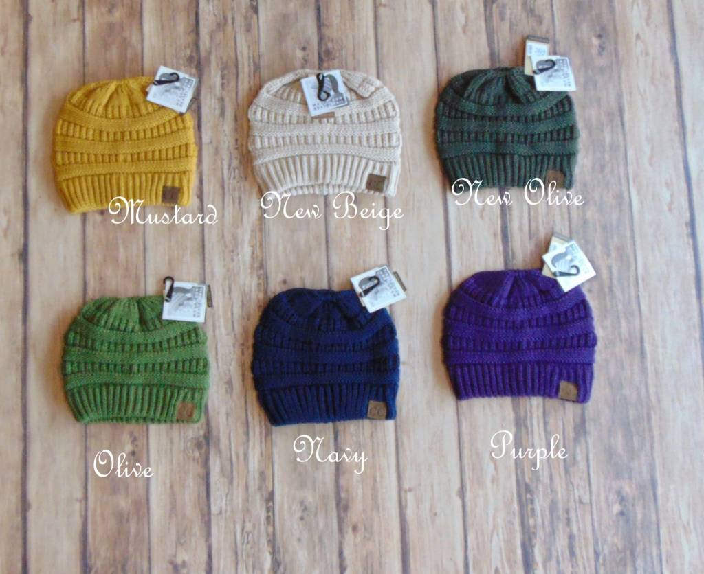 69a683cb263 What are you looking for. Search. Home » C.C. Messy Bun Beanie
