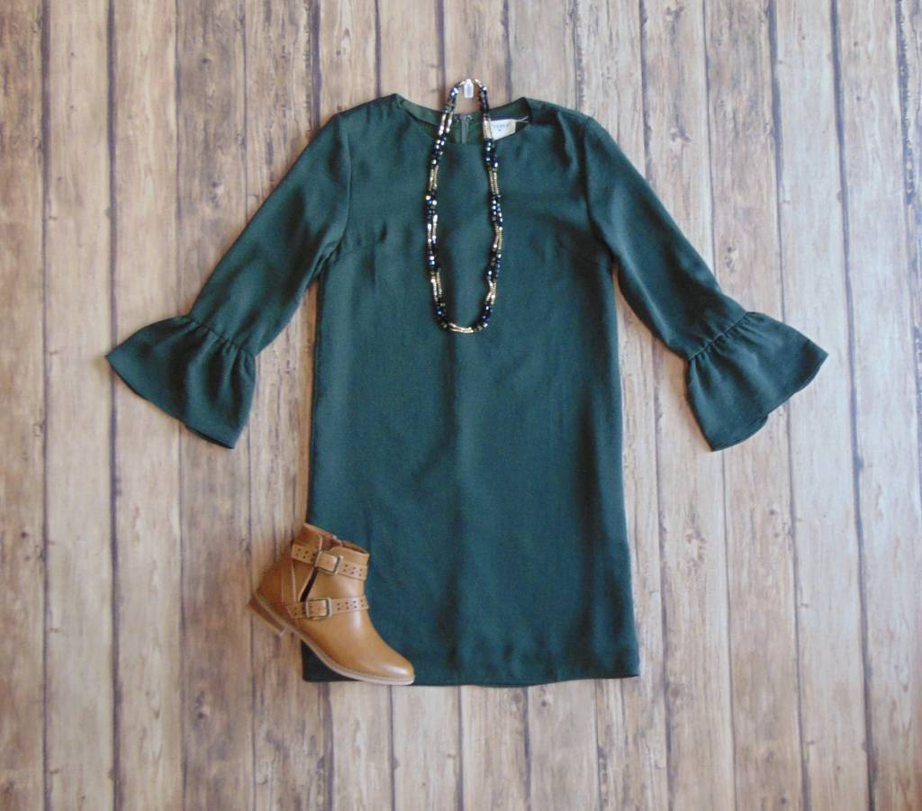 Boughs of Holly Dress