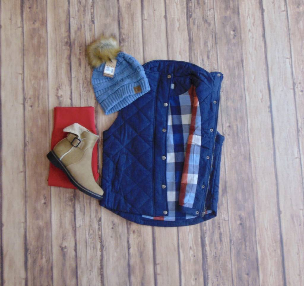 Comfort and Joy Quilted Vest
