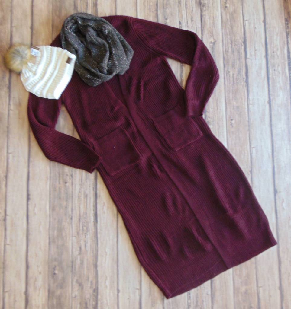 Wishes for Warmth Maxi Cardigan