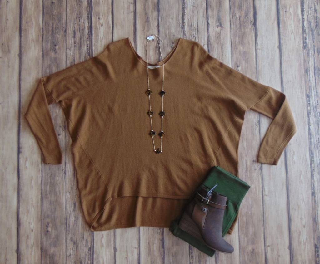 Slouchy Situation Dolman Sweater