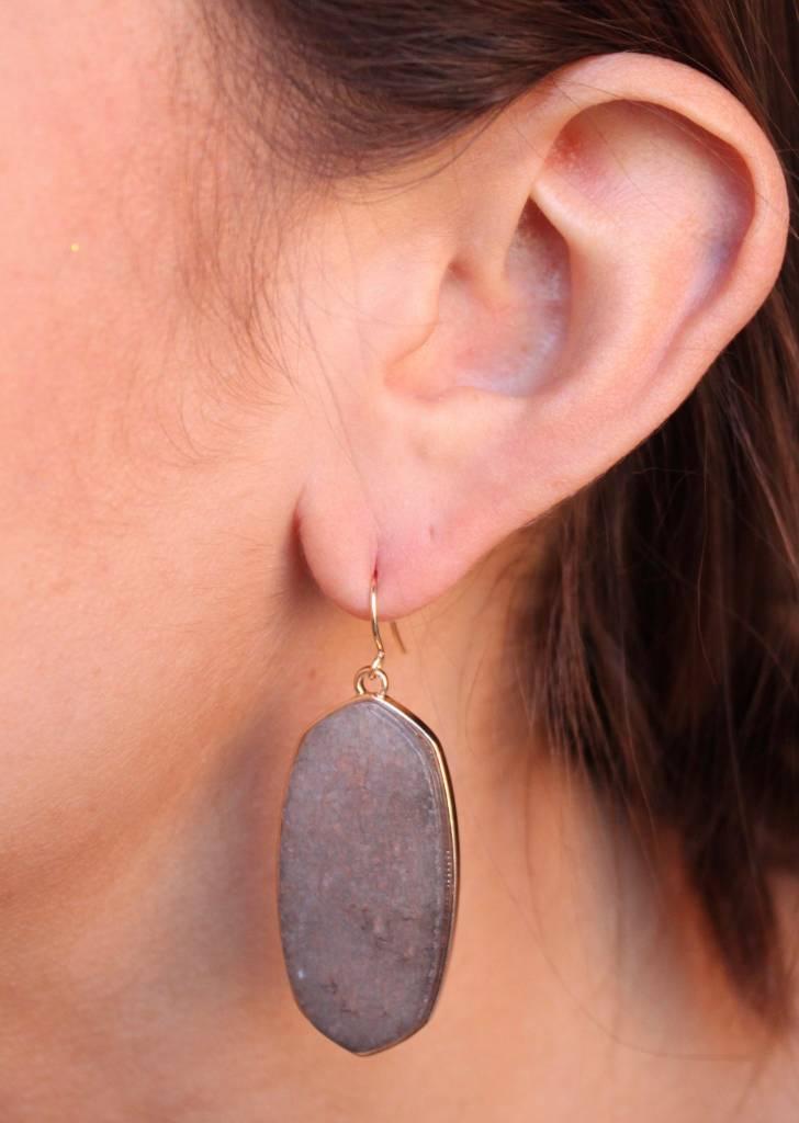 Moll Stone Drop Earrings